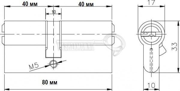 Схема Цилиндр (личинка для